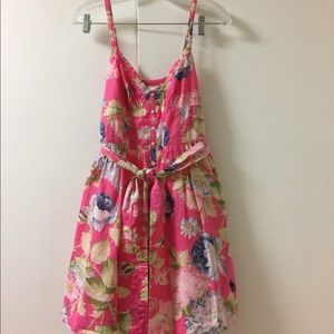 Abercrombie & Fitch pink floral dress